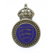 Essex Special Constabulary Enamelled Lapel Badge - King's Crown
