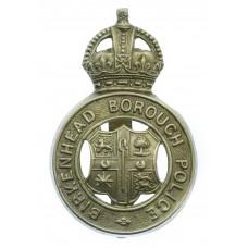 Birkenhead Borough Police Cap Badge - King's Crown