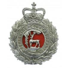 Berkshire Constabulary Wreath Cap Badge - Queen's Crown