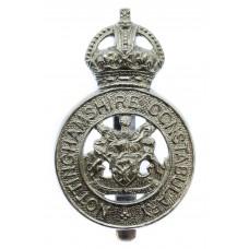 Nottinghamshire Constabulary Cap Badge - King's Crown