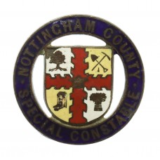 Nottingham County Special Constable 1914 Enamelled Lapel Badge