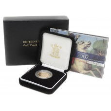 Royal Mint 2007 United Kingdom 22ct Gold Proof Full Sovereign Coin