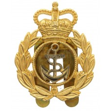 Royal Navy Chief Petty Officer's Cap Badge - Queen's Crown