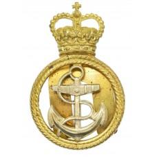 Royal Navy Petty Officer's Cap Badge - Queen's Crown