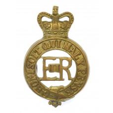 EIIR Household Cavalry Brass Cap Badge