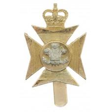 Royal Wiltshire Territorials Anodised (Staybrite) Cap Badge