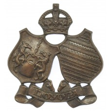 Canadian Loyola College C.O.T.C. Cap Badge - King's Crown