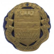 Canadian University of British Columbia C.O.T.C. Cap Badge
