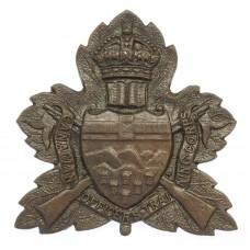 Canadian Alberta University C.O.T.C. Cap Badge - King's Crown