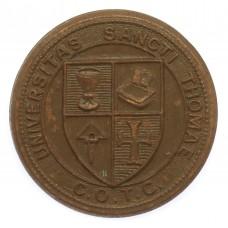 Canadian St. Thomas University C.O.T.C. Cap Badge