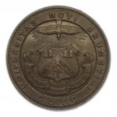 Canadian New Brunswick University C.O.T.C. Cap Badge