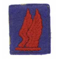 24th Infantry Brigade Cloth Formation Sign (2nd Pattern)