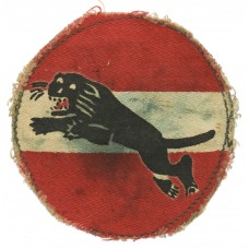 34th Indian Corps Printed Formation Sign