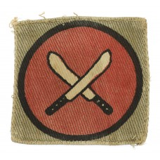 East Africa Command Printed Formation Sign