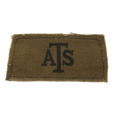 Auxiliary Territorial Service (A.T.S.) WW2 Printed Slip On Should