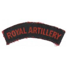 Royal Artillery (ROYAL ARTILLERY) Printed Shoulder Title