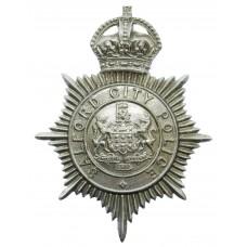 Salford City Police Helmet Plate - King's Crown