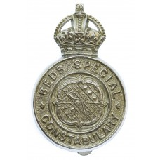 Bedfordshire Special Constabulary Cap Badge - King's Crown