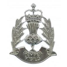 Scottish Police Forces Cap Badge - Queen's Crown
