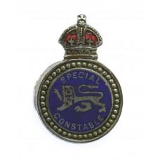 Surrey Constabulary Special Constable Enamelled Lapel Badge - Kin
