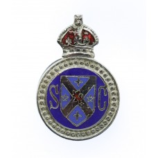 Stirlingshire Special Constabulary Enamelled Lapel Badge - King's