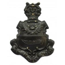 Devonport Borough Police Black Kepi/Cap Badge