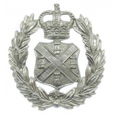 Plymouth City Police Wreath Cap Badge - Queen's Crown