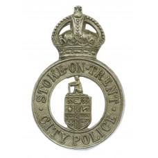 Stoke-on-Trent City Police Cap Badge - King's Crown