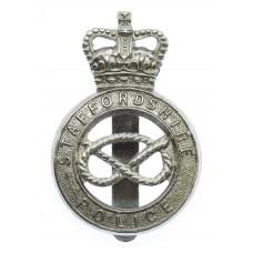 Staffordshire Police Cap Badge - Queen's Crown