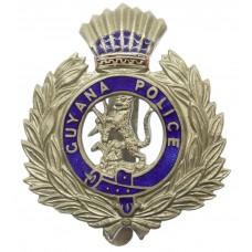 Guyana Police Enamelled Cap Badge