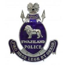 Swaziland Police Enamelled Cap Badge