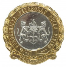 Penang Port Security Commission Anodised (Staybrite) Cap Badge