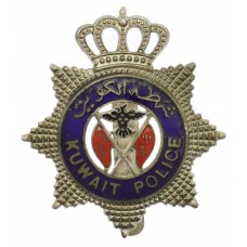 Kuwait Police Enamelled Cap Badge (c.1940-56)