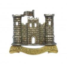 6th (Inniskilling) Dragoons Officer's Collar Badge