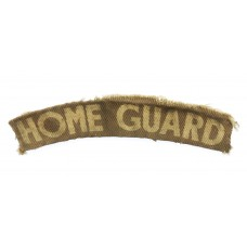 Home Guard (HOME GUARD) WW2 Printed Shoulder Title