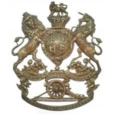 Victorian Royal Artillery Volunteers Helmet Plate