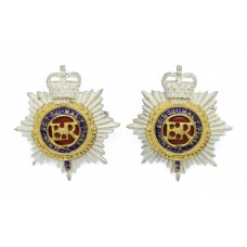 Pair of Royal Corps of Transport (R.C.T.) Officer's Collar Badges