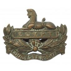 Gloucestershire Regiment Officer's Service Dress Cap Badge