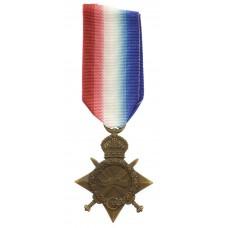 WW1 1914-15 Star - Spr. B. Stobbart, Royal Engineers