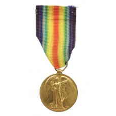 WW1 Victory Medal - Pte. A. Warren, Devonshire Regiment