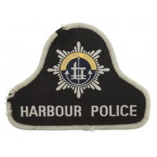 Tees and Hartlepool Harbour Police Cloth Patch