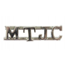 Mersey Tunnel Joint Committee (M.T.J.C.) Shoulder Title