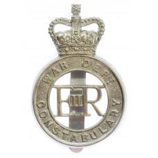 War Department Constabulary Cap Badge - Queen's Crown