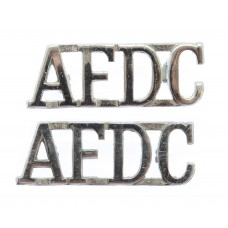 Pair of Air Force Department Constabulary (A.F.D.C.) Shoulder Titles