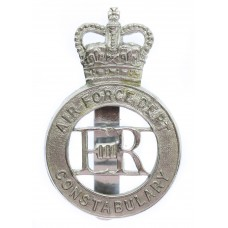 Air Force Department  Constabulary Cap Badge - Queen's Crown