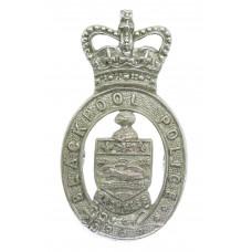 Blackpool Police Cap Badge - Queen's Crown