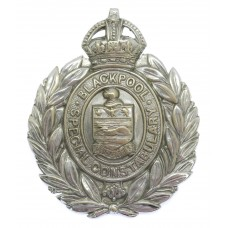 Blackpool Special Constabulary Wreath Cap Badge - King's Crown