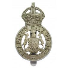 Bradford City Police Cap Badge - King's Crown