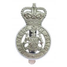 Bradford City Police Cap Badge - Queen's Crown