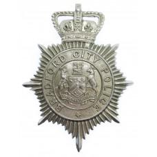 Bradford City Police Helmet Plate - Queen's Crown